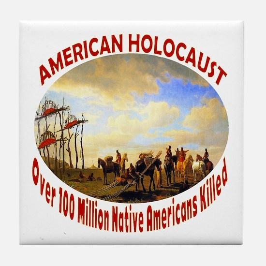 American Holocaust Tile Coaster