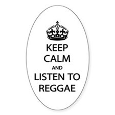 Listen Reggae Decal