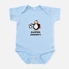 Super Daddy Penguin Body Suit