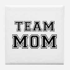 Team mom Tile Coaster