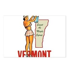 Vermont Pinup Postcards (Package of 8)