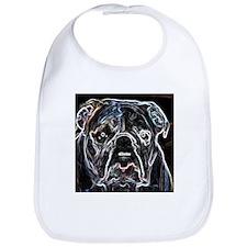 Neon Bulldog Bib