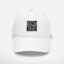 Neon Bulldog Baseball Baseball Cap