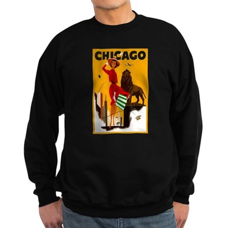 Vintage Chicago Illinois Travel Sweatshirt