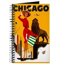 Vintage Chicago Illinois Travel Journal