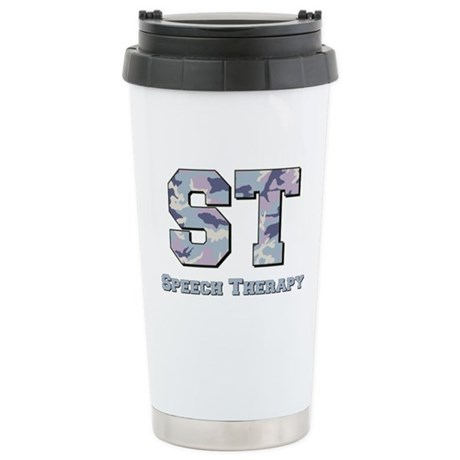 ST Camo Stainless Steel Travel Mug