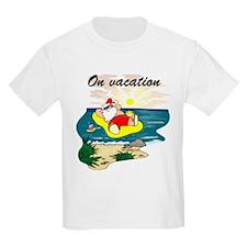 Santa's On Vacation T-Shirt