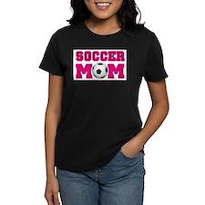Soccer Mom - Hot Pink T-Shirt
