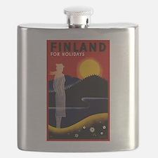 Vintage Finland Travel Flask