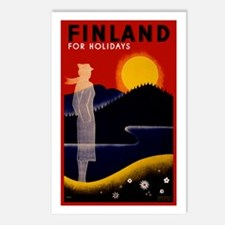 Vintage Finland Travel Postcards (Package of 8)