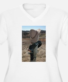 """The Old West Was Won"" Plus Size T-Shirt"