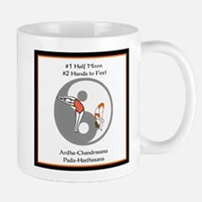 Bikram Yoga #1 Half Moon Mug