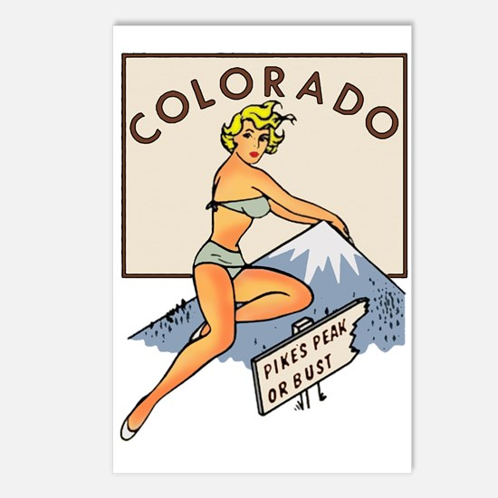 Colorado Pinup Postcards (Package of 8)