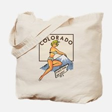 Colorado Pinup Tote Bag