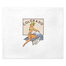 Colorado Pinup King Duvet