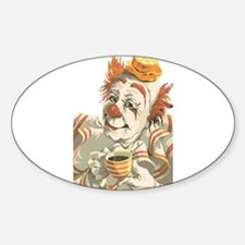 Coffee and Clown Decal