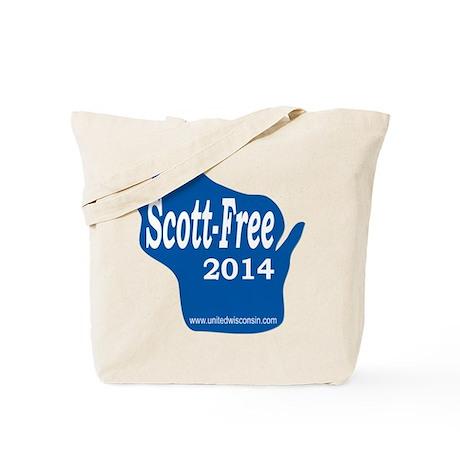 Scott-Free Wisconsin Tote Bag