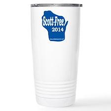 Scott-Free Wisconsin Travel Mug