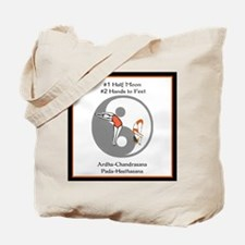 Bikram Yoga #1 Half Moon Tote Bag