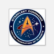 Star Trek Federation Of Planets Patch Square Stick