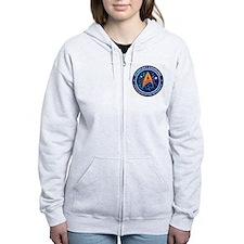 Star Trek Federation Of Planets Patch Zip Hoodie