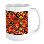 Folk Design 4 Large Mug