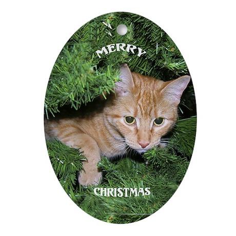 Christmas Oval Ornament
