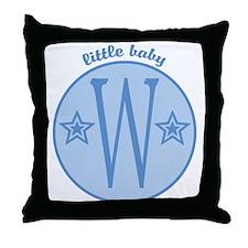 Baby W Throw Pillow