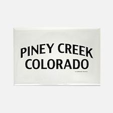 Piney Creek Colorado Rectangle Magnet