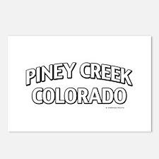 Piney Creek Colorado Postcards (Package of 8)