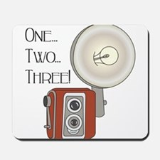 One,Two, Three! Mousepad