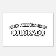 Piney Creek Ranches Colorado Postcards (Package of