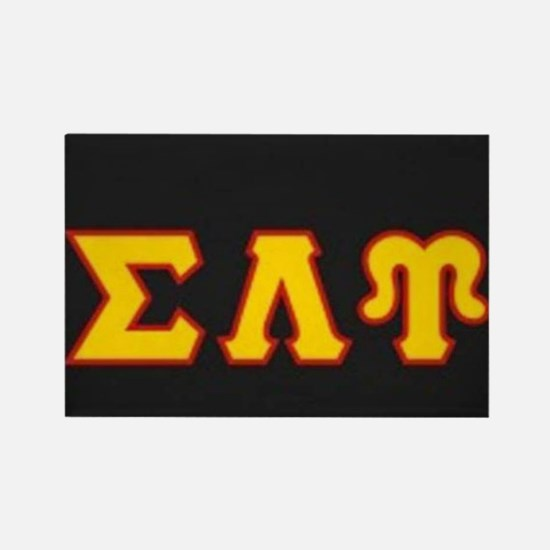 Sigma Lambda Upsilon Rectangle Magnet