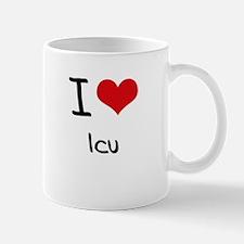 I Love Icu Mug