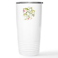 Cute Retro Grape Vine Travel Mug