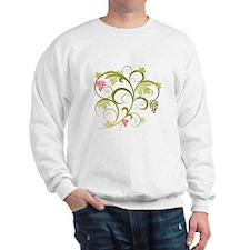 Cute Retro Grape Vine Sweatshirt