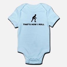 Roller Skating Infant Bodysuit
