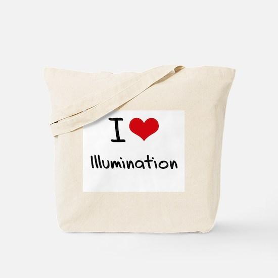 I Love Illumination Tote Bag