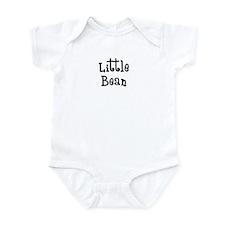 Little Bean-black Infant Bodysuit