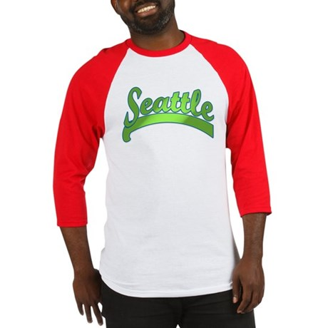 Green Seattle Baseball Jersey