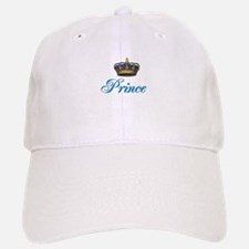 Blue Prince text with crown Baseball Baseball Cap