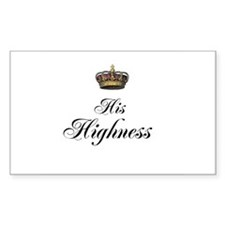 His Highness Decal