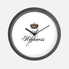 His Highness Wall Clock