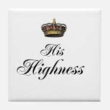 His Highness Tile Coaster