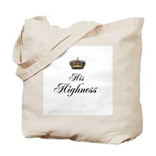 His Highness Tote Bag