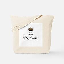 His Highness Tote Bag