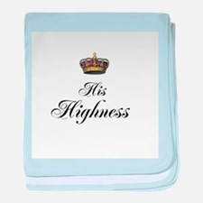 His Highness baby blanket