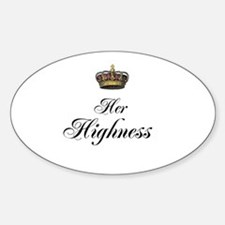 Her Highness Stickers