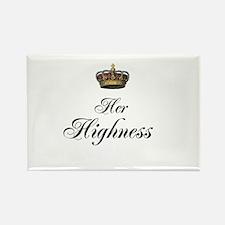 Her Highness Rectangle Magnet