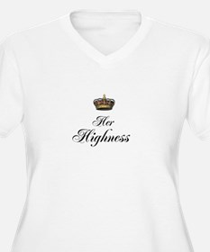 Her Highness Plus Size T-Shirt